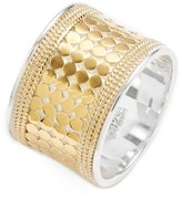 Anna Beck Women's 'Gili' Cigar Band Ring