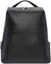Valextra Black V Backpack