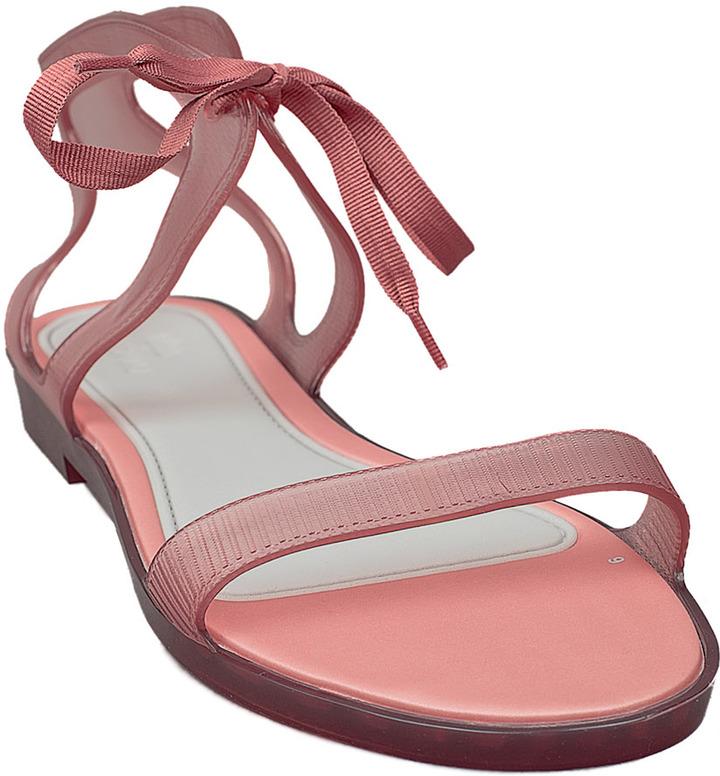 Melissa Artemis Sandal Flat Pink