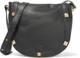 See by Chloe Sadie studded textured-leather shoulder bag