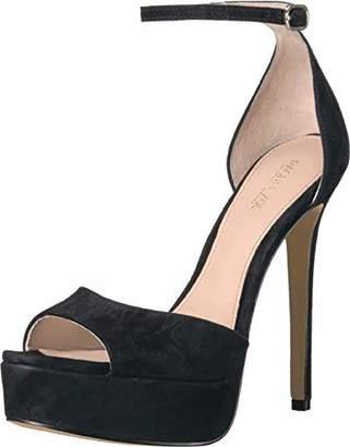 Rachel Zoe Women's Margo Platform Sandal-Suede