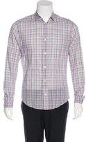 Louis Vuitton Plaid Woven Shirt