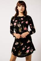 Azalea L/S Botanical Mini Dress