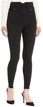 BCBGeneration High-Waisted Riding Pants THG2265391 (Black) Women's Clothing
