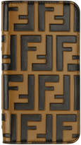 Fendi Brown Forever iPhone X Case