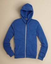 Alternative Apparel Boys Rocky Eco Fleece Hoodie - Sizes S-XL