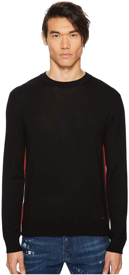 DSQUARED2 Side Zipper Sweater