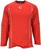 Majestic Men's Cincinnati Reds Practice Pullover
