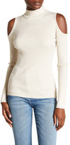 Willow & Clay Mock Neck Cold Shoulder Shirt