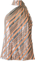 Giuliana Romanno striped blouse