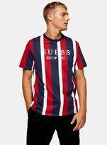 new appearance discount shop separation shoes TopmanTopman Black and Red Stripe T-Shirt