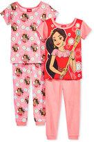Disney Elena of Avalor 4-Pc. Cotton Pajama Set, Toddler Girls (2T-5T)
