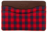 J.Crew J. Crew Checkered Card Case