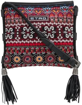 Etro Ricamo embroidered crossbody bag