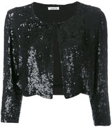 P.A.R.O.S.H. cropped sequin cardigan - women - Viscose - XS