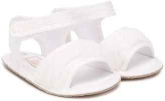 Aletta Open-Toe Touch Strap Sandals