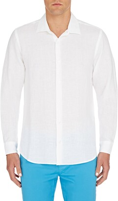 Orlebar Brown Giles Slim Fit Linen Button-Up Shirt