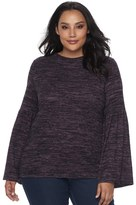 Apt. 9 Plus Size Bell Sleeve Top