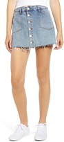 Blank NYC Blanknyc Denim Button Front Skort
