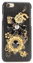 Dolce & Gabbana Embellished Leather Iphone 6 Case