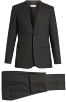 Saint Laurent Notch-lapel Single-breasted Wool Suit