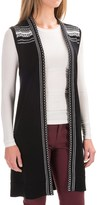 Pendleton Austin Cardigan Sweater Vest - Tunic Length (For Women)