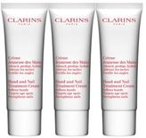 Clarins Hand & Nail Treatment Cream Trio