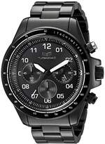 Vestal Men's ZR2010 ZR-2 Black with White Lume Chronograph Watch