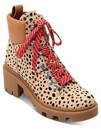 Dolce Vita Women's Rubi Cheetah-Print Hiker Booties