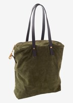 Toast Suede Tote