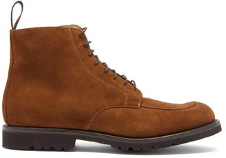 Cheaney Richmond Suede Boots - Tan
