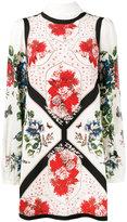 Alexander McQueen floral print mini dress - women - Silk - 44