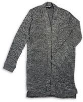 Planet Gold Girls 7-16 Open Front Knit Cardigan