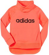 adidas Drop Kick Pullover (Toddler/Kid) - Bright Red-5