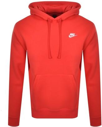 Nike Club Hoodie Red