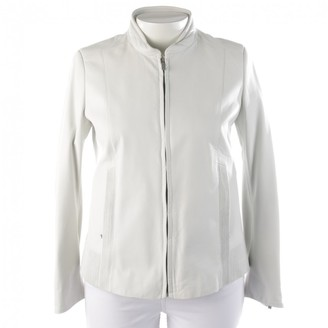 Porsche Design White Leather Jacket for Women