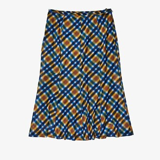 Opening Ceremony Mesh Skirt (French Blue Multi) Women's Skirt