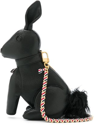 Thom Browne Rabbit chain-strap tote bag
