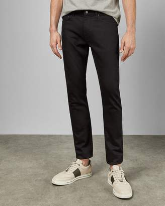 Ted Baker Tapered Printed Denim Jeans