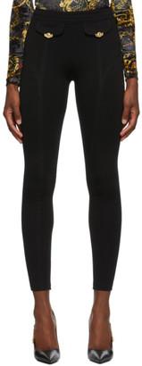 Versace Black Skinny Trousers