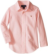 Polo Ralph Lauren Solid Oxford Shirt Boy's Long Sleeve Button Up