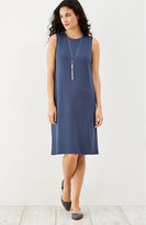 J. Jill Ponte Knit Sleeveless Dress