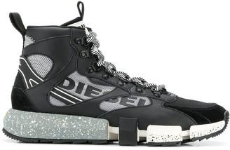 Diesel hybrid high top sneakers