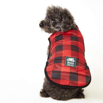 Roots Pooch Park Plaid Puffer Size 10