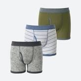 Uniqlo BOYS Boxer Brief 3 Packs