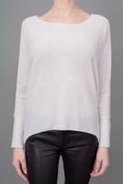 Subtle Luxury Button Back Sweater Porcelin