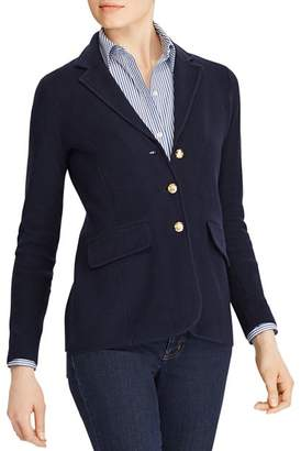 Ralph Lauren Sweater-Knit Blazer