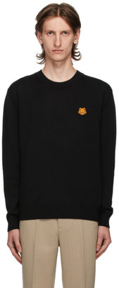 Kenzo Black Tiger Crest Sweater