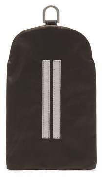 Rick Owens Bladder Small Leather Pouch - Mens - Black