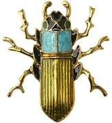 Per Insect Brooch Pins Retro Style with Exquisite Detail 4.1x3.6cm